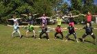 Cvičit se dá kdekoli, třeba v parku!
