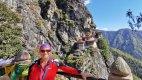 Na kole v Bhútánu.