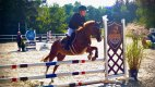 Starší syn Patrik zdědil lásku ke koním po rodičích.