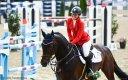 Se svou stájovou jedničkou – koněm Caleri II – po vítězné bezchybné jízdě v rámci Poháru národů v rakouském Linzi.