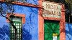 Museum Fridy Kahlo v jejím rodišti, mexickém Coyoacánu.