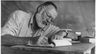 13 podob Ernesta Hemingwaye (†61)