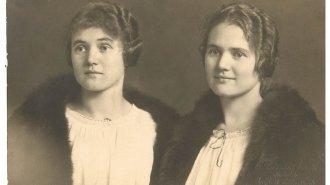 Příběh Mileny a Heleny (dvojčat narozených vroce 1893): Svatba? Jen obě najednou!