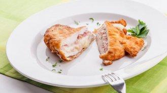 Kuřecí kapsa se sýrem Fontina a italskou šunkou