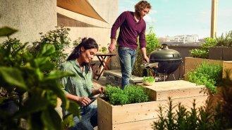 6 tipů, jak na balkóně vytvořit zahrádku