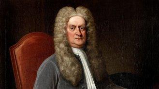 Isaac Newton (†84): Génius, který se bál lidí a slunečního světla