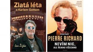 Dvě zajímavé životopisné knihy