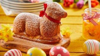 Velikonoční beránek ze špaldové mouky
