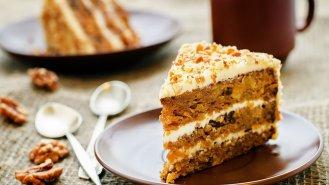Tradiční mrkvový koláč