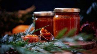 Kořeněný dýňový džem spomerančem