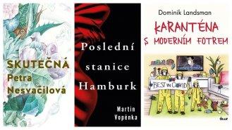 Tři novinky českých autorů