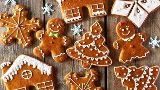 Vánoční medové perníčky