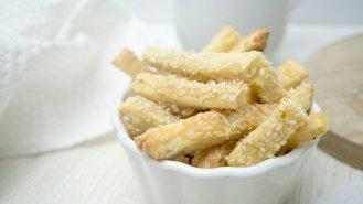 Slané máslové tyčinky