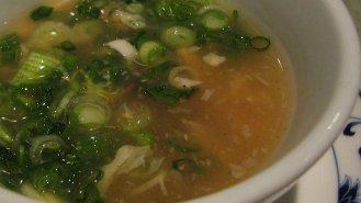 Jednoduchá pórková polévka s krupicí