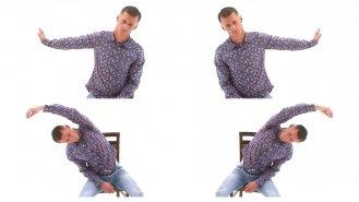 9 cviků pro sedavé zaměstnání