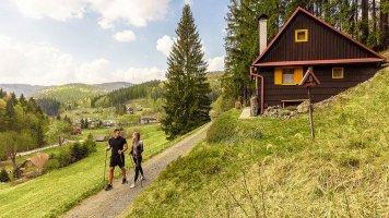 Nordic walking na Valašsku