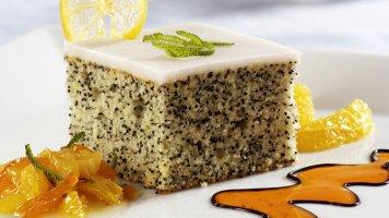 Citronový dort smakovým olejem