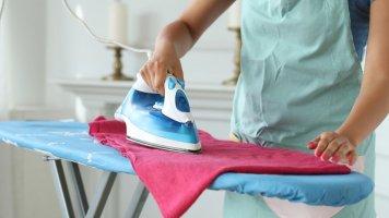 6 triků na vyžehlení prádla