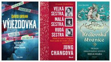 Tři knižní novinky na tento týden