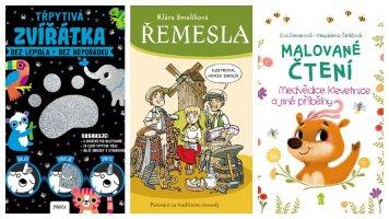 Červnové knižní novinky pro děti