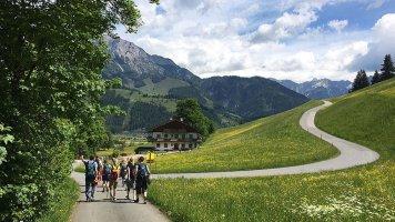 Leogang: Rakousko pěšky i na kole
