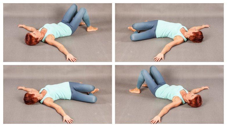 Cviky proti bolesti bederní páteře