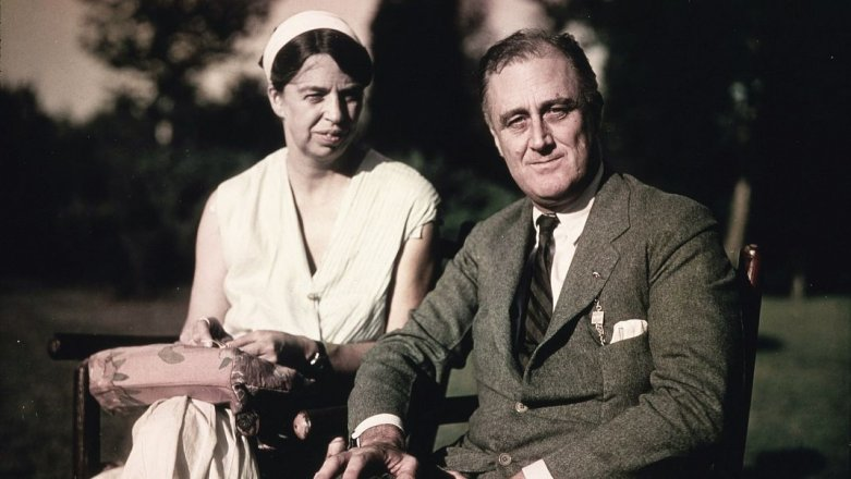 "Eleanor a Franklin Rooseveltovi: Manželé jen ""naoko"""