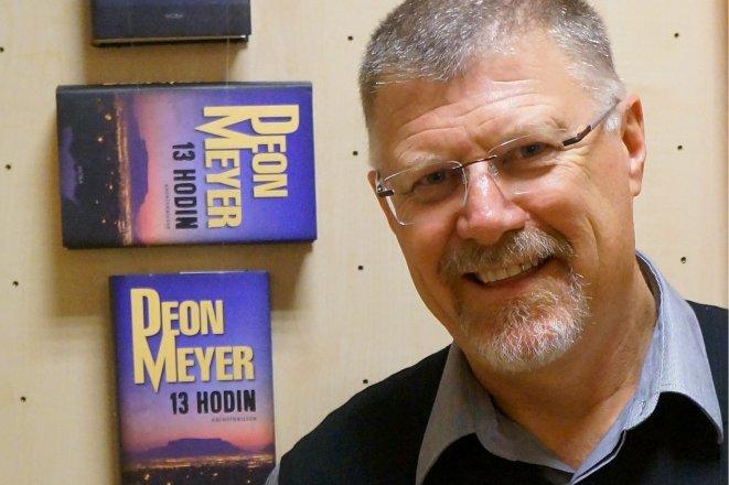 Horečka, nový román Deona Meyera