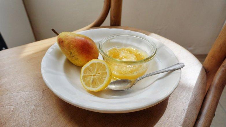 Hruškovo-citronový džem