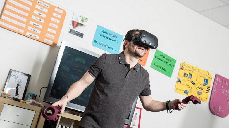Angličtina v každém věku. Vyzkoušejte učení s pomocí virtuální reality!