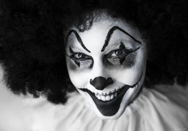 Odvrácená tvář klauna