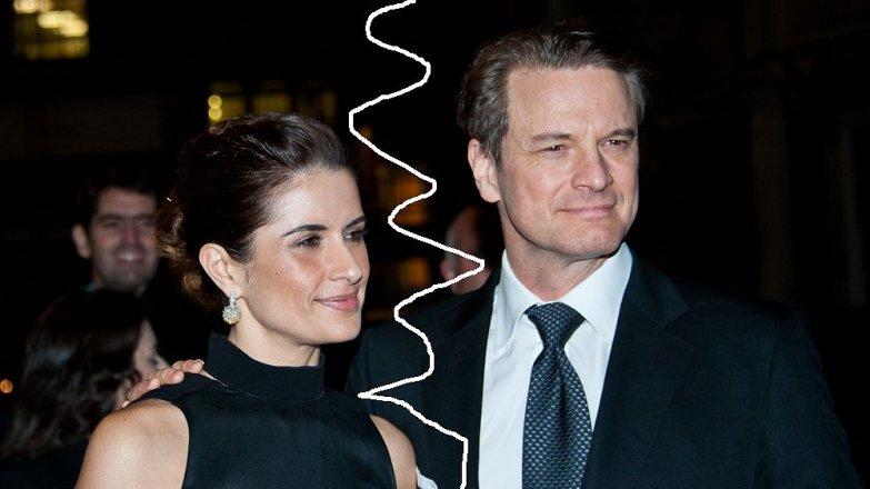 Colin Firth a Livia Giuggioli: Manželka Colinovi nasadila parohy