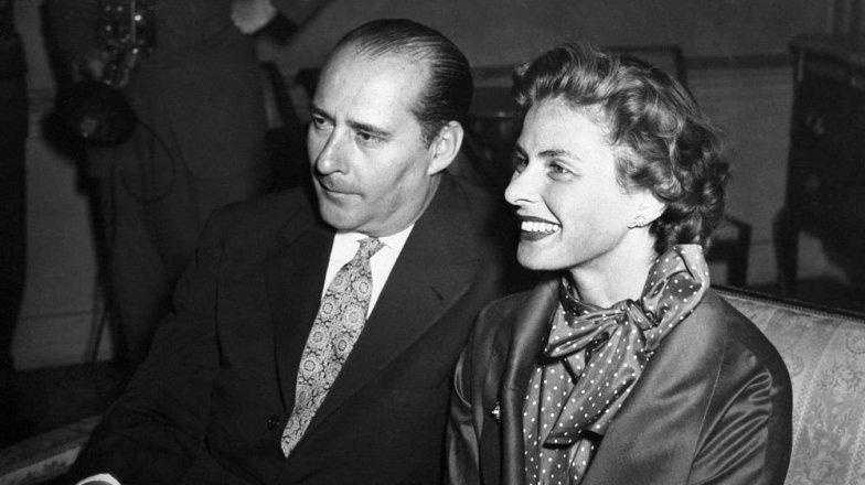 Ingrid Bergman (†67) a Roberto Rossellini (†71): Bouřlivé italské manželství