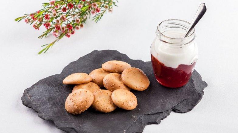 Jogurtové sušenky