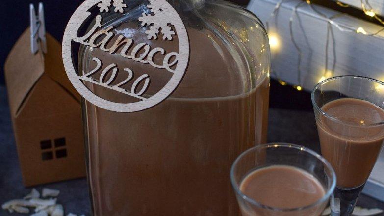 Smetanový likér s kokosem a čokoládou