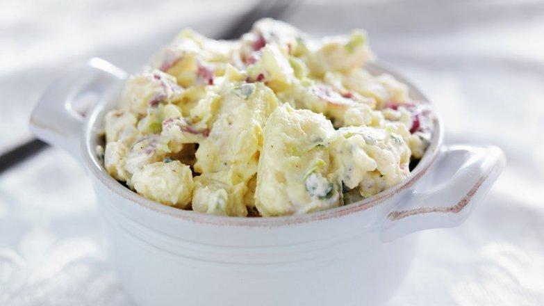 Bramborový salát s jogurtem