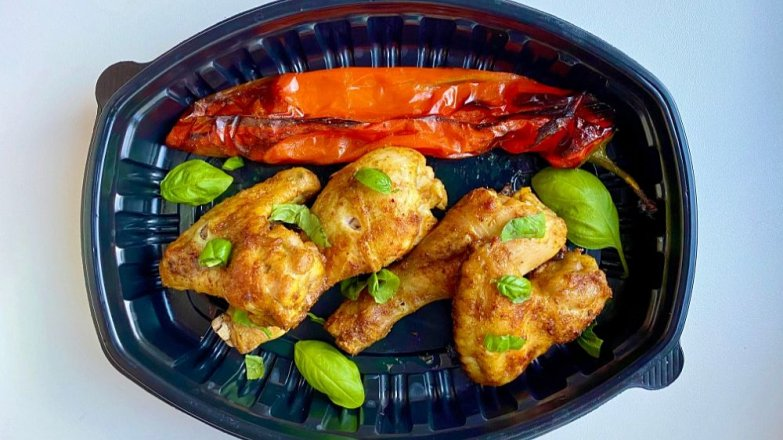 Kuře pečené s kurkumou a citronovou trávou