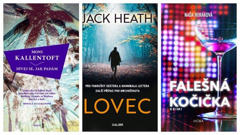 Tři napínavé knihy na dovolenou