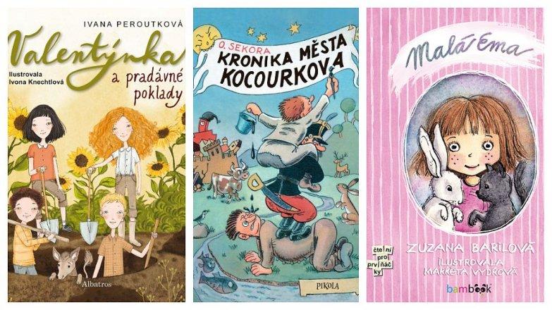 Srpnové knihy pro děti
