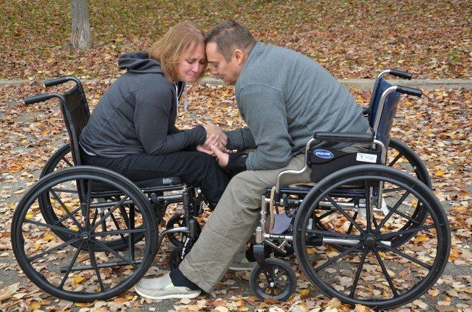 Láska na vozíku