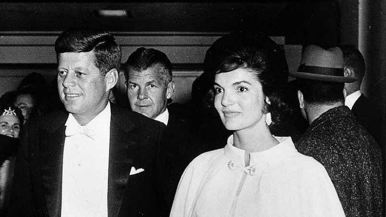 Jacqueline a John Kennedyovi