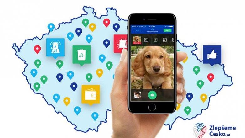 Najděte zatoulaného psa pomocí aplikace