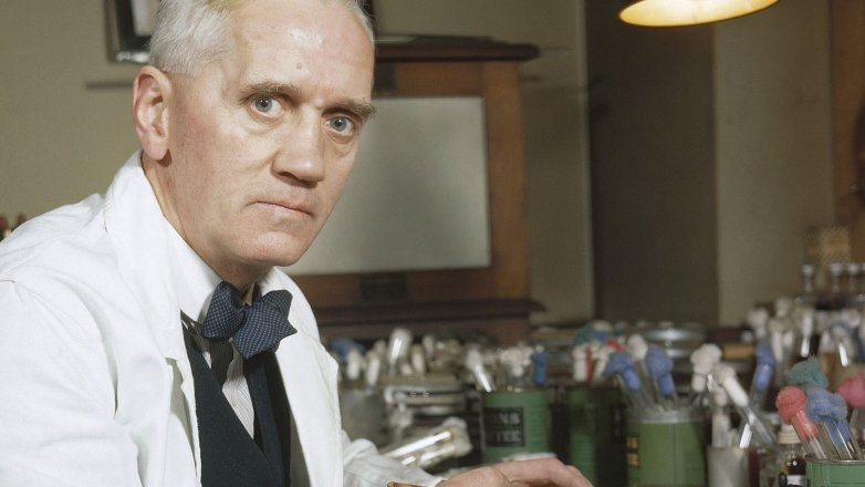 "Alexander Fleming (†73): Pan ""Penicilin"""
