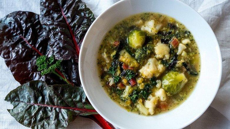 Lehká zeleninová polévka