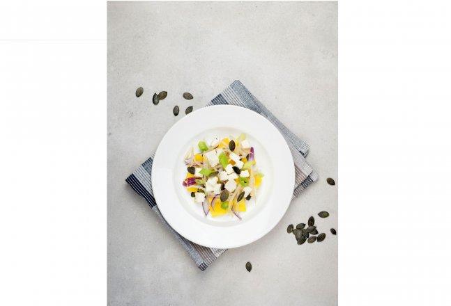 Salát s klíčky fazole mungo se sýrem Il Salato